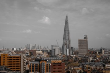 Londres. Ses immeubles. Son Shard.