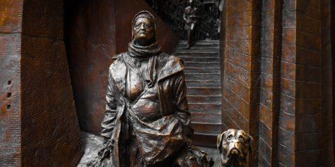 Sculpture vue à St Pancras