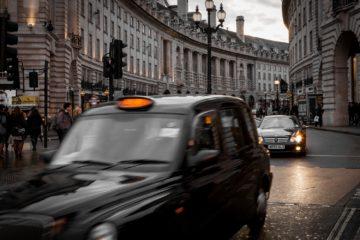 Taxi typique Londres