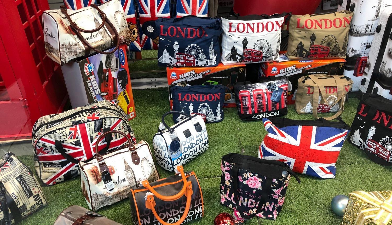 Sacs aux couleurs de Londres