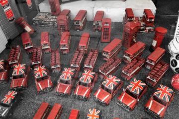 Souvenirs en forme de bus Londres